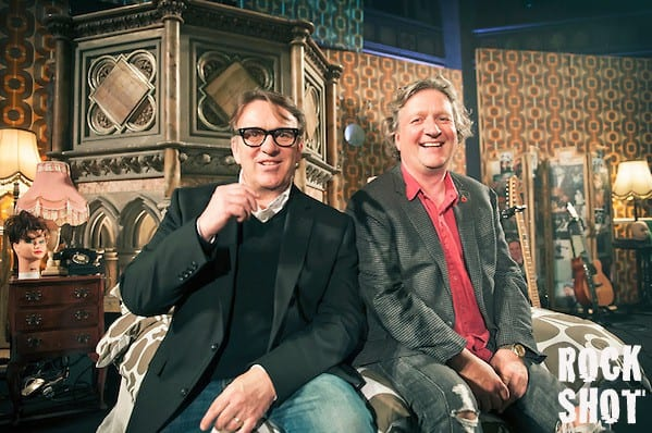 Glenn Tilbrook & Chris Difford at Union Chapel on 8 November 2014. (Imelda Michalczyk)