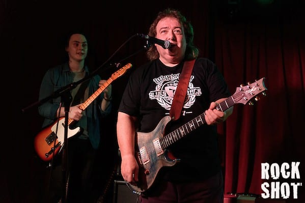 Bernie Marsden performing with Buck and Evans at The Half Moon Putney, 6th November 2015 (Simon Reed)