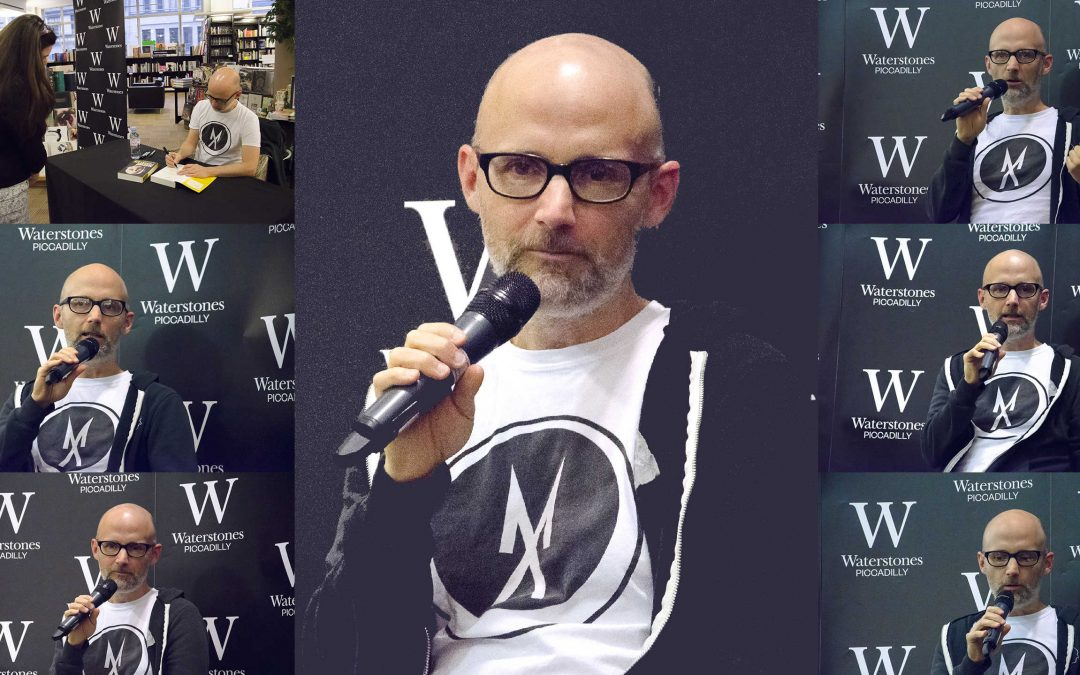 Words Of Moby: Porcelain, A Memoir @ Waterstones Piccadilly.