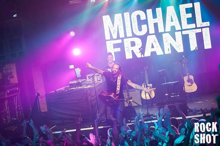 Live: Michael Franti @ Heaven, London.