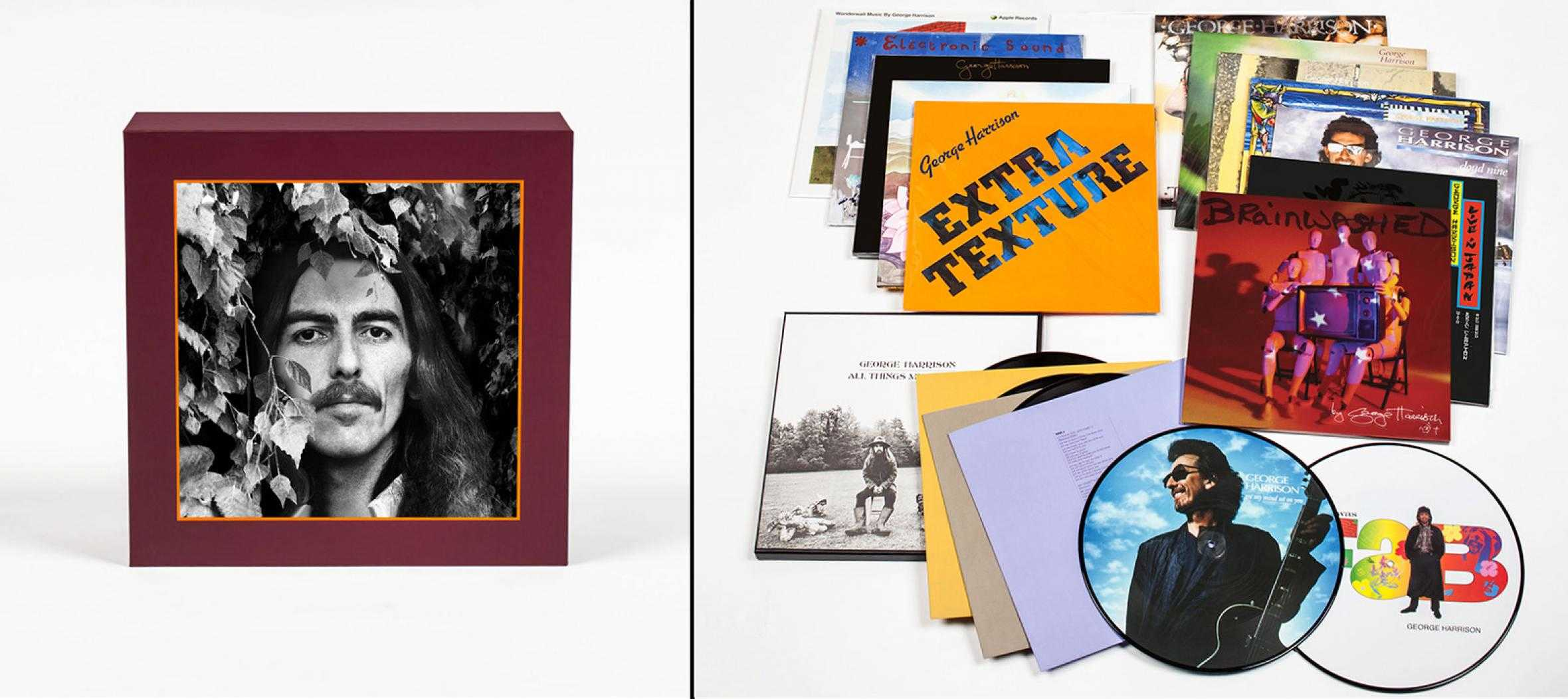 Rock Media: George Harrison, The Vinyl Collection.
