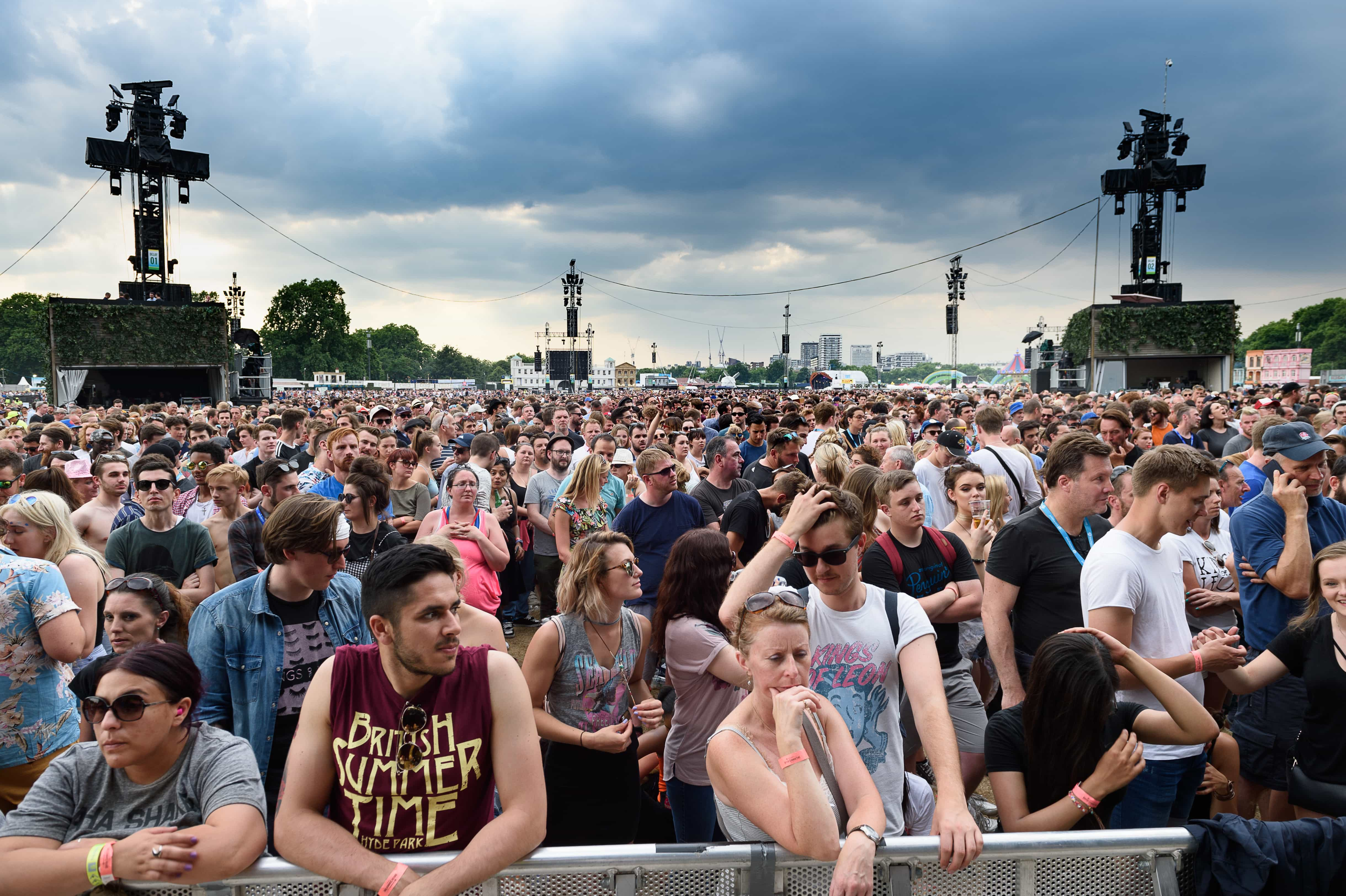 Photography: BST Hyde Park, Kings Of Leon Day