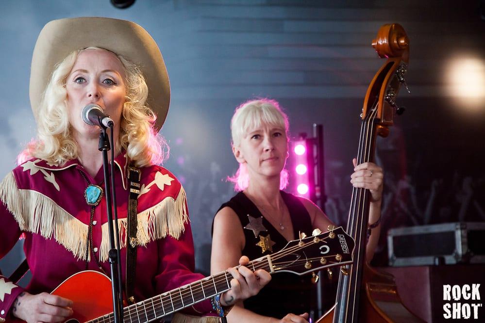 Sarah Vista and her band at The Lyttelton Arms (Simon Partington)