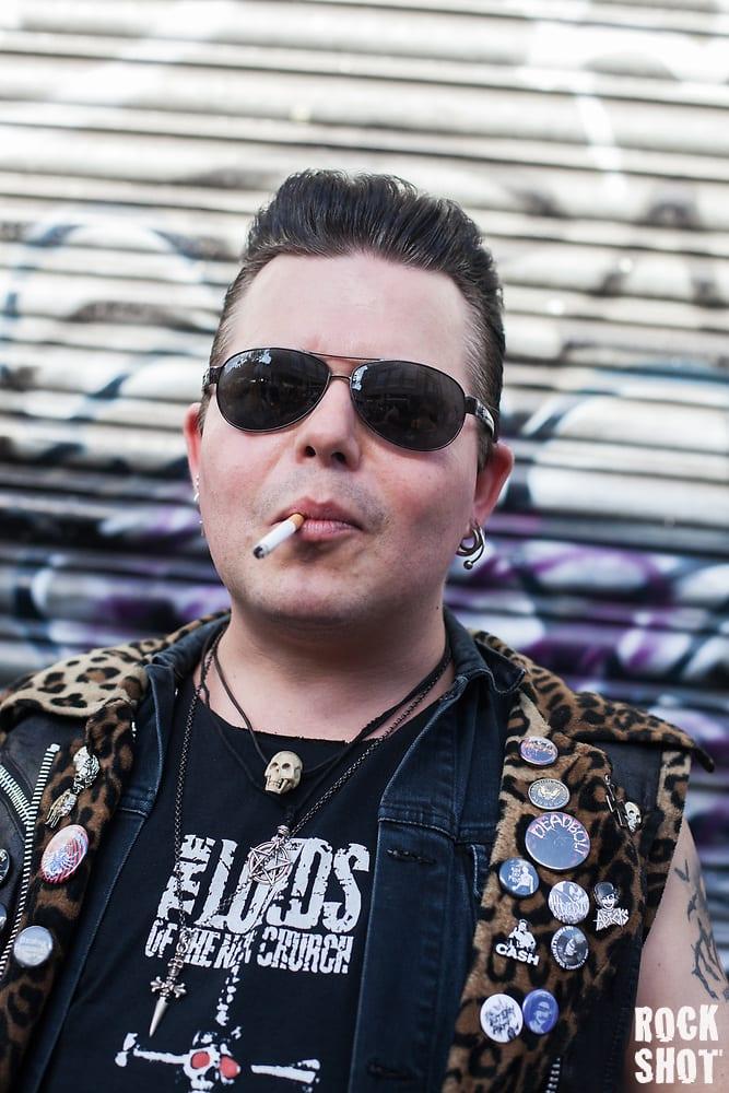 Rocker on Camden High Street (Simon Partington)