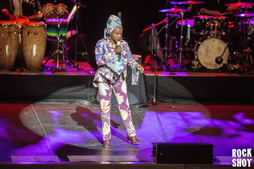 Angélique Kidjo Renews Remain In Light Live @ Royal Festival Hall