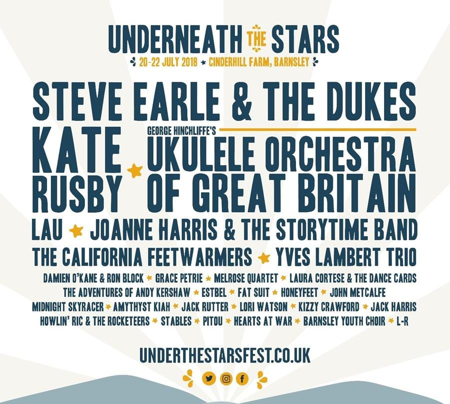 Full Line-up at Underneath The Stars Festival