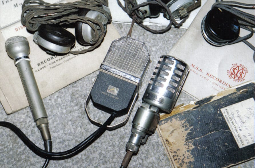 Exclusive Image: Microphones and Notebooks