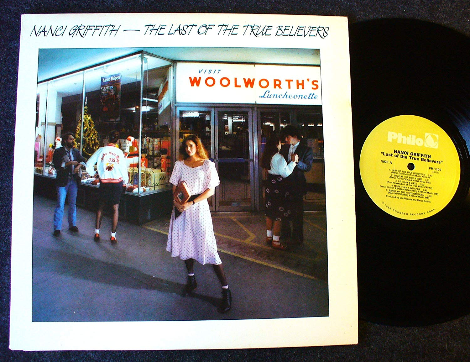 National Album Day: Last Of The True Believers by Nanci Griffith