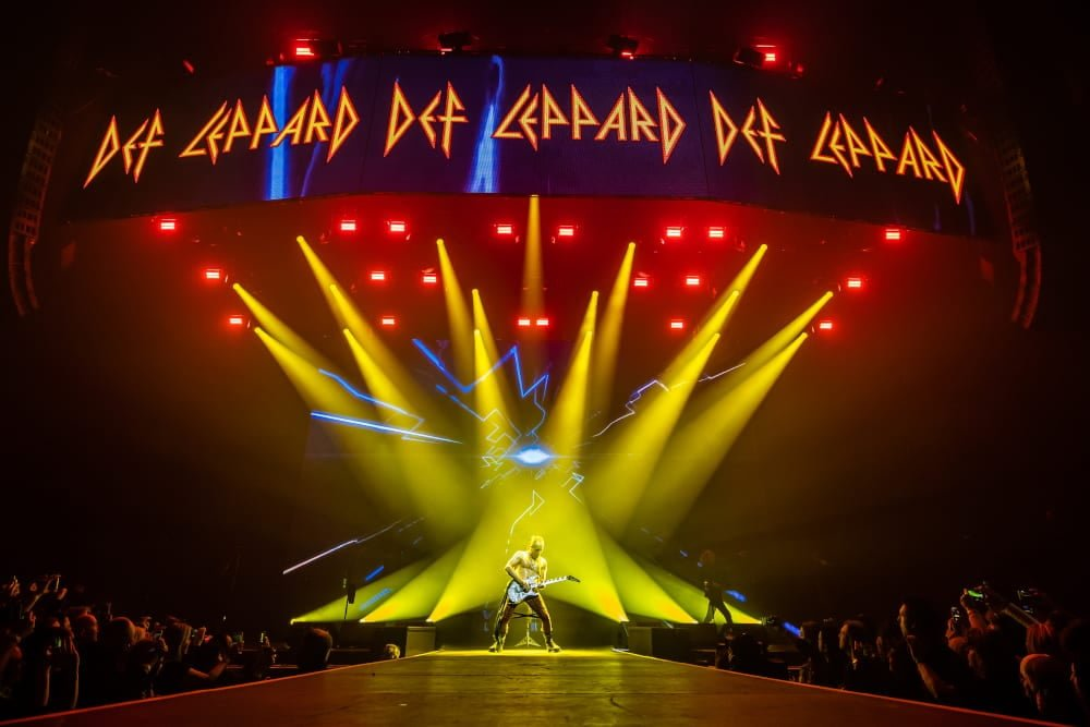 Def Leppard Pour Some Sugar On Wembley Arena