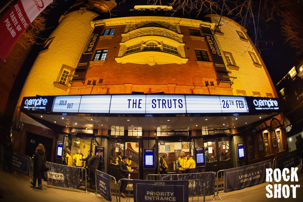 The Struts Raising The Temperature At Shepherd's Bush Empire