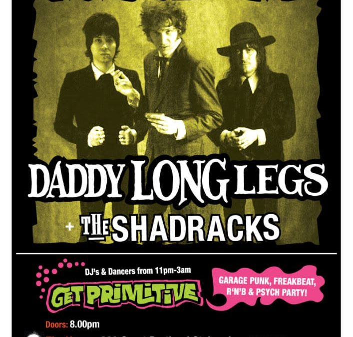 New Album And UK/EU Tour Dates For Daddy Long Legs!