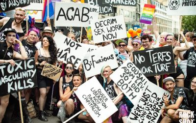 London Pride 2019 – Bi Pandas Unite Against Capitalism