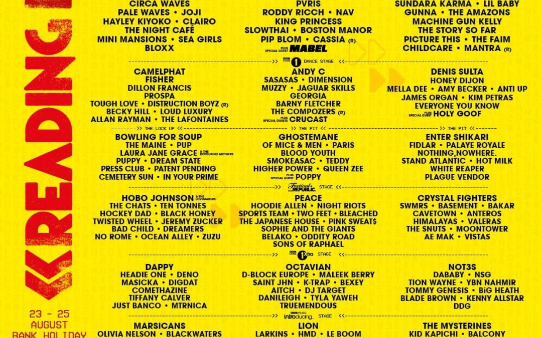 Reading & Leeds Festival – Local Bands Have Been Added To The Bill