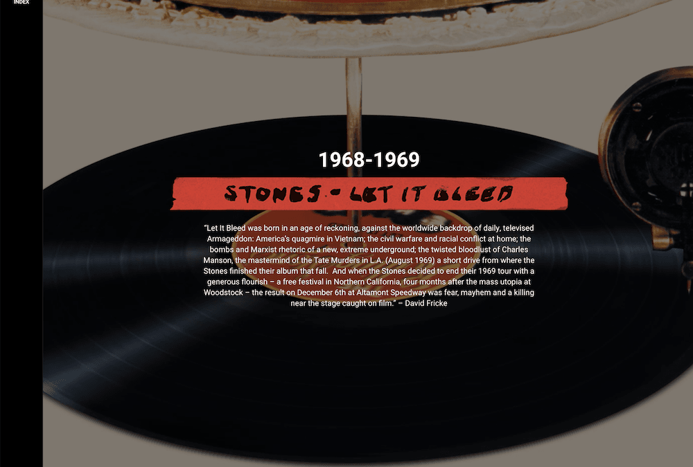 ABKCO Launch Interactive Site Celebrating The Rolling Stones' Let It Bleed