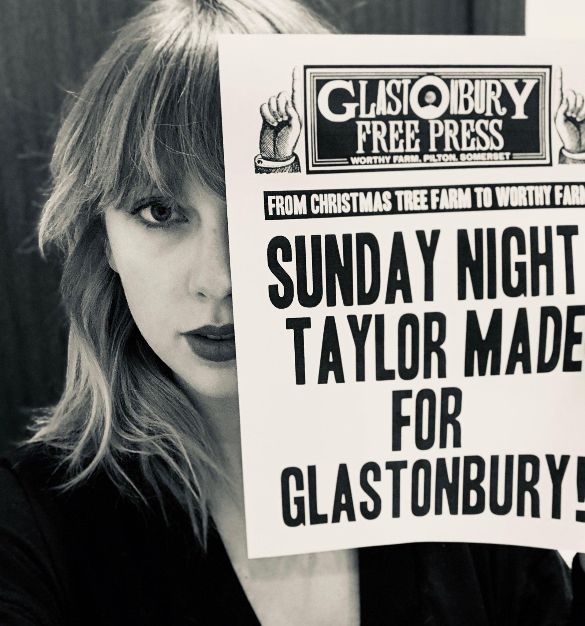 Taylor Swift Glastonbury Announcement